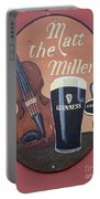 Matt The Millers Pub Sign Portable Battery Charger