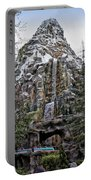 Matterhorn Mountain With Bobsleds At Disneyland Portable Battery Charger