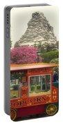 Matterhorn Mountain With Hot Popcorn At Disneyland 01 Portable Battery Charger