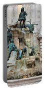 Matthias Fountain In Budapest Portable Battery Charger