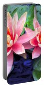 Maui Lotus Blossoms Portable Battery Charger