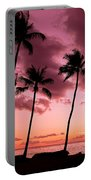 Maui Silhouette Sunset Portable Battery Charger
