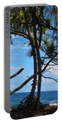Maui Tree Silhouette Portable Battery Charger