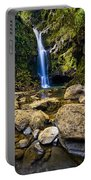 Maui Waterfall Portable Battery Charger by Adam Romanowicz