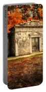 Mausoleum Portable Battery Charger by Bob Orsillo