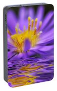 Mauve Softness And Reflections Portable Battery Charger
