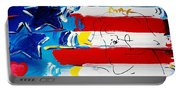 Max Stars And Stripes Portable Battery Charger