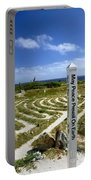 May Peace Prevail On Earth Peace Labyrinth Aruba Portable Battery Charger