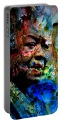 Maya Angelou Paint Splash Portable Battery Charger