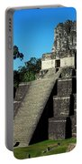 Mayan Ruins - Tikal Guatemala Portable Battery Charger by Juergen Weiss