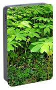 Mayapple Plants Portable Battery Charger