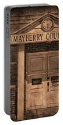 Mayberry Courthouse Portable Battery Charger