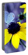 Mazarine Blue Portable Battery Charger