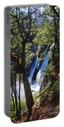 Mcarthur-burney Falls Side View Portable Battery Charger