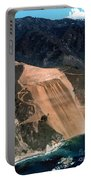 Aerial Of Mcway Landslide Big Sur California 1984 Portable Battery Charger