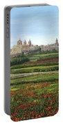 Mdina Poppies Malta Portable Battery Charger