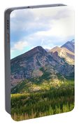 Meadow And Mountains Portable Battery Charger