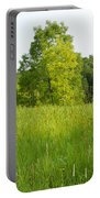 Meadow Blossoms Portable Battery Charger