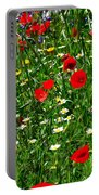 Meadow Flowers - Digital Oil Portable Battery Charger