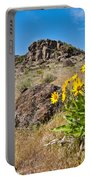 Meadow Of Arrowleaf Balsamroot Portable Battery Charger