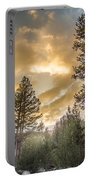 Meadow Sunset Gold Portable Battery Charger