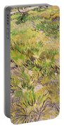 Meadow With Butterflies Portable Battery Charger