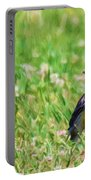 Meadowlark In The Wildflowers Portable Battery Charger