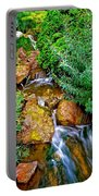 Meandering Flow Portable Battery Charger