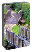 Meandering Pathway Portable Battery Charger