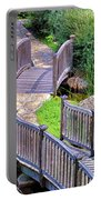 Meandering Pathway Portable Battery Charger by Christi Kraft