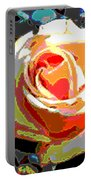 Medallion Rose Portable Battery Charger