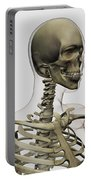 Medical Illustration Of A Womans Skull Portable Battery Charger by Stocktrek Images