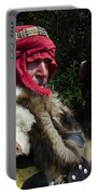 Medieval Barbarian Artur And Spirit Portable Battery Charger