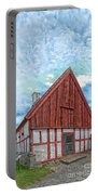 Medieval Building Portable Battery Charger
