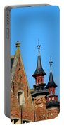 Medieval Buildings Towers And Vanes Portable Battery Charger