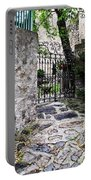 Medieval Garden Portable Battery Charger