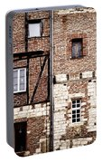 Medieval Houses In Albi France Portable Battery Charger
