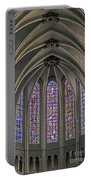 Medieval Stained Glass Portable Battery Charger