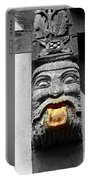 Medieval Statue Portable Battery Charger