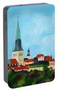 Medieval Tallinn Portable Battery Charger
