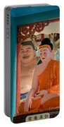 Meditating Buddha In Lotus Position Portable Battery Charger