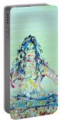 Meditation Blues Portable Battery Charger