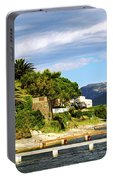 Mediterranean Coast Of French Riviera Portable Battery Charger