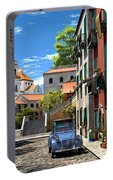 Mediterranean Morning Portable Battery Charger