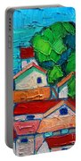 Mediterranean Roofs 2 Portable Battery Charger