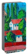 Mediterranean Roofs 3 4 Portable Battery Charger
