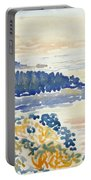 Mediterranian Coast Seascape Portable Battery Charger