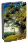 Meet Me At Our Swing Portable Battery Charger by Melissa Herrin