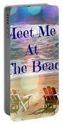 Meet Me At The Beach Portable Battery Charger