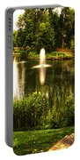 Meet Me By The Fountain Portable Battery Charger